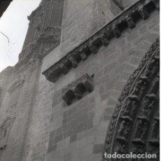 Postales: NEGATIVO ESPAÑA NAVARRA TUDELA CATEDRAL 1973 KODAK 55MM GRAN FORMATO FOTO PHOTO NEGATIVE. Lote 205800971