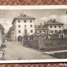 Postales: BURGUETE - CASA CONSISTORIAL Y ESCUELAS DE LA VILLA. Lote 206321641