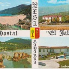 Postales: YESA (NAVARRA) HOSTAL EL JABALÍ - FOTO PEÑARROYA - S/C. Lote 206348422