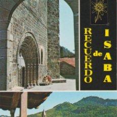 Postales: ISABA (NAVARRA) DOS DETALLES IGLESIA ROMÁNICA (S.XII) - FOTO PEÑARROYA 979 - S/C. Lote 206349006