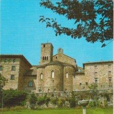 Postales: NAVARRA, MONASTERIO DE LEYRE, FACHADA PRINCIPAL - EDICIONES SICILIA Nº14 - S/C. Lote 206352510