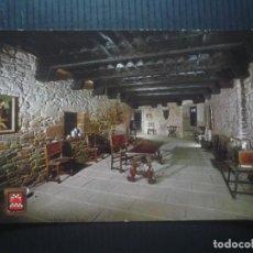 Postales: CASTILLO DE JAVIER-SALA PRINCIPAL.. Lote 206843863