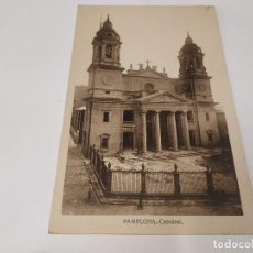Postales: NAVARRA - POSTAL PAMPLONA - CATEDRAL. Lote 207206595