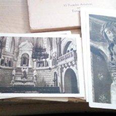 Postales: BLOC CON 14 POSTALES DEL CASTILLO DE JAVIER EN NAVARRA. Lote 208137901