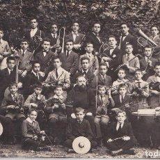 Postales: LECAROZ (NAVARRA) - COLEGIO DE NTRA SRA DEL BUEN CON SEJO - ORQUESTA. Lote 208193828