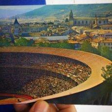 Cartes Postales: POSTAL PAMPLONA VISTA PARCIAL Y PLAZA DE TOROS SERIE 83 N 524 ZERKOWITZ 1969 ESCRITA Y SELLADA. Lote 208760455