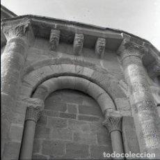 Postales: NEGATIVO ESPAÑA NAVARRA MURUZÁBAL IGLESIA SANTA MARÍA DE EUNATE 1973 KODAK 55MM GRAN FORMATO. Lote 209319862
