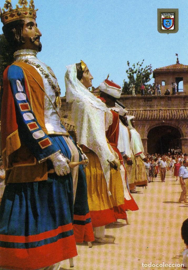 PAMPLONA - GIGANTES (Postales - España - Navarra Moderna (desde 1.940))
