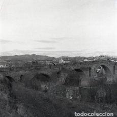 Postales: NEGATIVO ESPAÑA NAVARRA PUENTE LA REINA 1973 KODAK 55MM GRAN FORMATO NEGATIVE SPAIN PHOTO FOTO. Lote 210182660