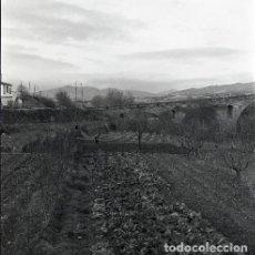 Postales: NEGATIVO ESPAÑA NAVARRA PUENTE LA REINA 1973 KODAK 55MM GRAN FORMATO NEGATIVE SPAIN PHOTO FOTO. Lote 210183222
