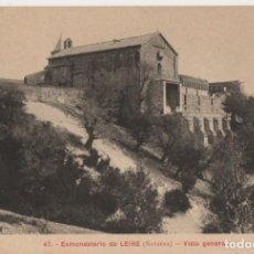 Postales: VISTA GENERAL-EXMONASTERIO DE LEIRE-NAVARRA. Lote 210409841