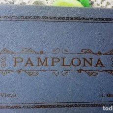 Postales: PAMPLONA 10 VISTAS DE L. ROISIN FOTOGRAFO DE BARCELONA. OJO FALTA UNA POSTAL.. Lote 211401630