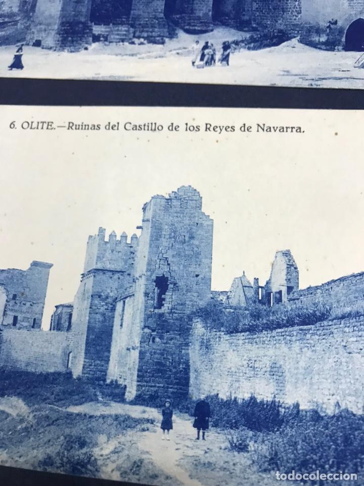 Postales: LOTE DE 5 POSTALES DE OLITE. SIN CIRCULAR - Foto 2 - 213717335