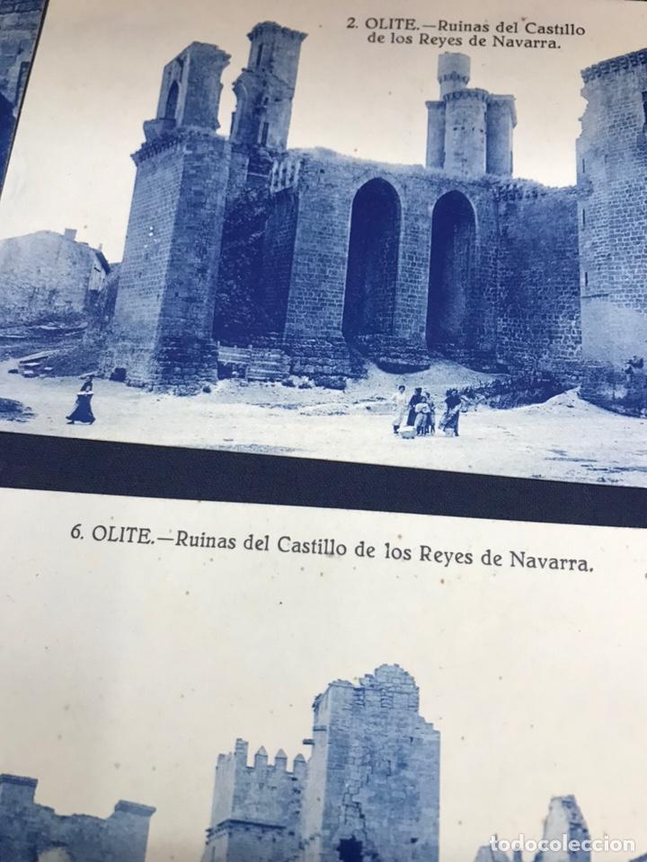 Postales: LOTE DE 5 POSTALES DE OLITE. SIN CIRCULAR - Foto 3 - 213717335