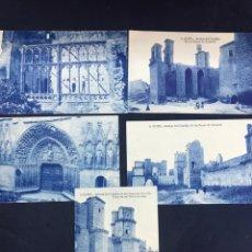 Postales: LOTE DE 5 POSTALES DE OLITE. SIN CIRCULAR. Lote 213717335