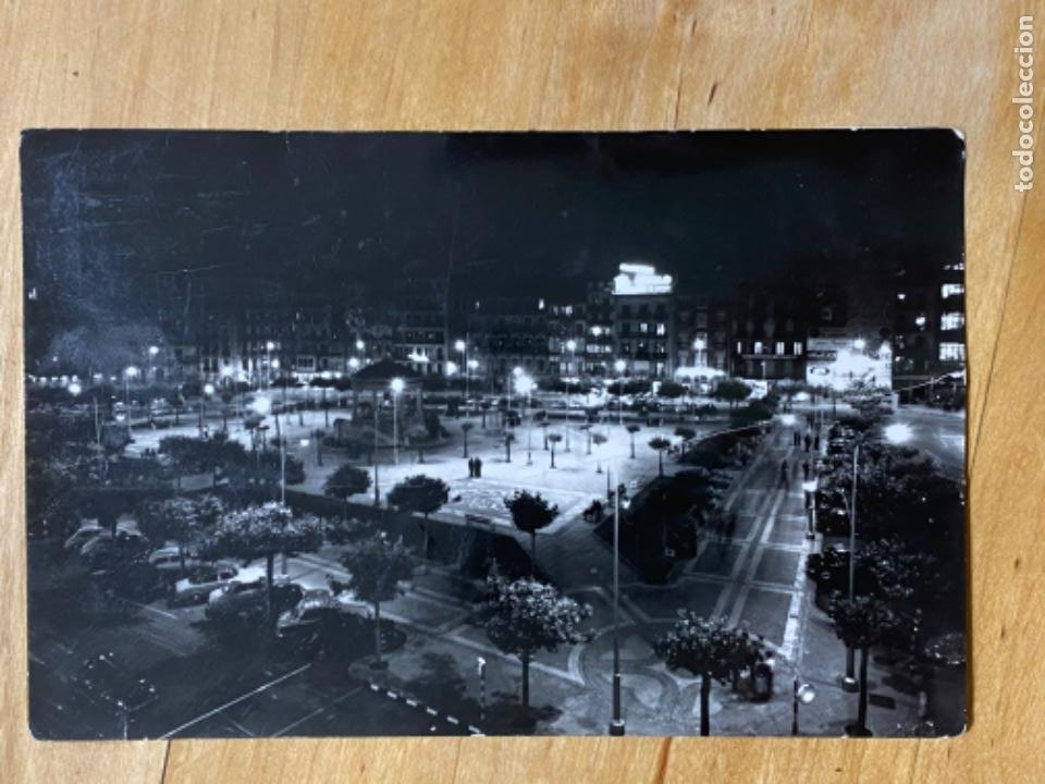 Postales: POSTAL PAMPLONA NAVARRA Plaza Castillo nocturna ed Sicilia 22 escrita circulada - Foto 4 - 213857905