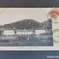 Postales: ELIZONDO NAVARRA CASA MISERICORDIA. Lote 215973321