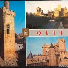 Postales: POSTAL OLITE - ESCUDO DE ORO NAVARRA Nº 18. Lote 216355488