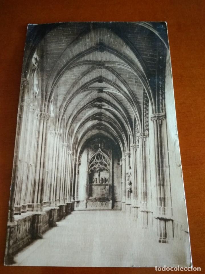 POSTAL CIRCULADA CON SELLO DE LA II REPÚBLICA 1935 PAMPLONA (Postales - España - Navarra Antigua (hasta 1.939))