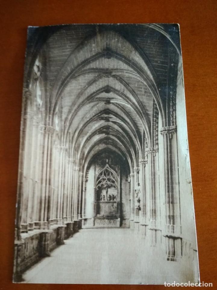 Postales: POSTAL CIRCULADA CON SELLO DE LA II REPÚBLICA 1935 PAMPLONA - Foto 2 - 216822088