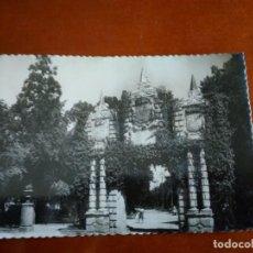 Postales: ANTIGUA TARJETA POSTAL DE LOS JARDINES DE LA TACONERA - PTAL DE S. NICOLÁS - PAMPLONA. Lote 217156200