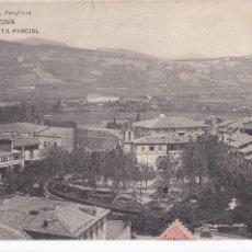 Postales: PAMPLONA VISTA PARCIAL. ED. RUBIO. CIRCULADA EN 1912. Lote 217379170