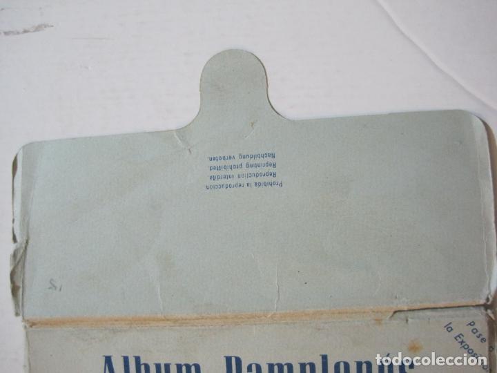 Postales: PAMPLONA-SAN FERMIN-ALBUM PAMPLONES-1ª SERIE CARTELES DE SAN FERMIN-VER FOTOS-(73.979) - Foto 3 - 217742858