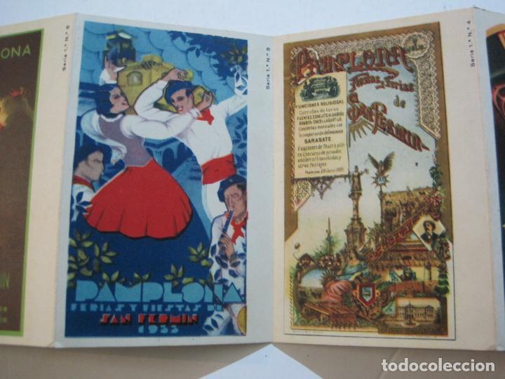 Postales: PAMPLONA-SAN FERMIN-ALBUM PAMPLONES-1ª SERIE CARTELES DE SAN FERMIN-VER FOTOS-(73.979) - Foto 6 - 217742858