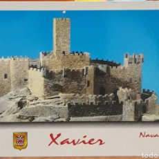 Postales: POSTAL N°70 MAQUETA CASTILLO DE XAVIER NAVARRA. Lote 218034083
