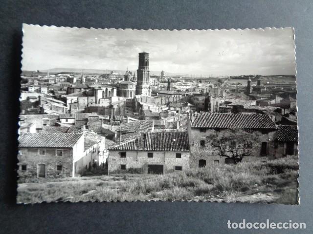 POSTAL TUDELA. VISTA PANORÁMICA. EDICIONES SICILIA. (Postales - España - Navarra Moderna (desde 1.940))