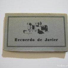 Postales: NAVARRA-CASTILLO DE JAVIER-BLOC DE 24 POSTALES ANTIGUAS-HUECOGRABADO ARTE BILBAO-VER FOTOS-(74.137). Lote 218529863