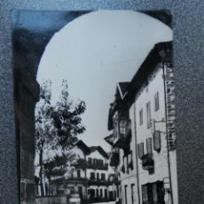 Postales: LESACA NAVARRA POSTAL CIRCULADA FECHADOR DE LESACA. Lote 218543087