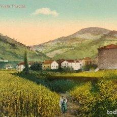 Postales: POSTAL DE ECHALAR. NAVARRA. VISTA PARCIAL. POSTAL CON CENSURA MILITAR. 1939. Lote 218768823