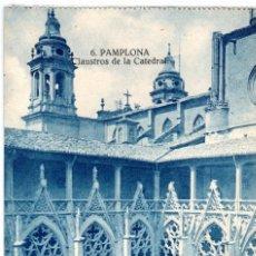 Postales: BONITA POSTAL - PAMPLONA - CLAUSTRO DE LA CATEDRAL. Lote 218800043