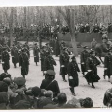 Postales: PAMPLONA. DESFILE DE LOS GUARDIAS DE ASALTO, DICIEMBRE DE 1934, FOTÓGRAFO GERARDO ZARAGÜETA. Lote 219477061