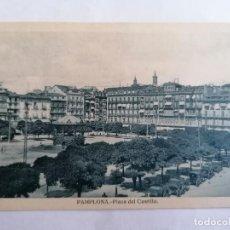 Postales: POSTAL PAMPLONA, PLAZA DEL CASTILLO. Lote 221146255
