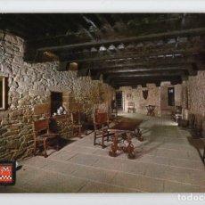 Postales: Nº 5 CASTILLO DE JAVIER. SALA PRINCIPAL -FOTOGRAFÍA INDUSTRIAL, 1965-. Lote 221602636