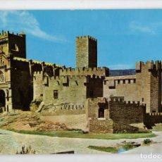 Postales: Nº 693 CASTILLO DE JAVIER. VISTA DEL CASTILLO Y BASÍLICA -EDICIONES SICILIA, 1964-. Lote 221602933