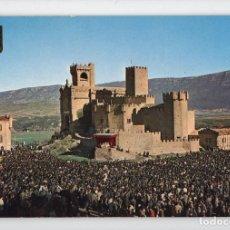 Postales: Nº 27 CASTILLO DE JAVIER. JAVIERADA -FOTOGRAFÍA INDUSTRIAL, 1969-. Lote 221603075