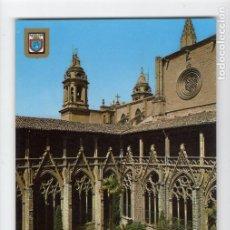 Postales: Nº 47 PAMPLONA. CLAUSTROS DE LA CATEDRAL -LUIS DOMINGUEZ, 1966-. Lote 221632067