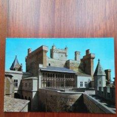 Postales: POSTAL OLITE, EN NAVARRA. CASTILLO VISTA PARCIAL. Lote 221719618