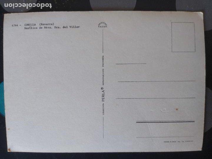 Postales: POSTAL BASILICA DE NTRA. SRA. DEL VILLAR, CORELLA (NAVARRA) - Foto 2 - 221818890