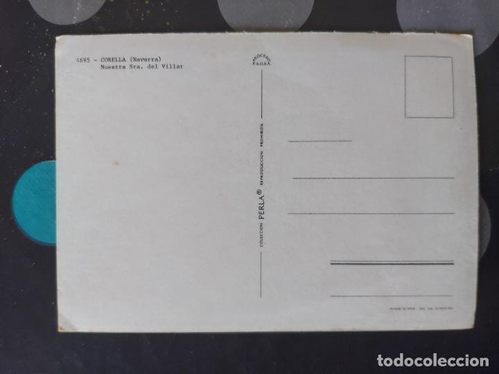 Postales: POSTAL NTRA. SRA. DEL VILLAR, CORELLA (NAVARRA) - Foto 2 - 221819268