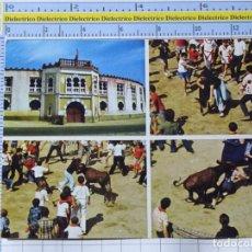 Cartes Postales: POSTAL DE NAVARRA. AÑO 1974. ESTELLA PLAZA DE TOROS Y NOVILLO PA LAS CHICAS 81 GIF. 1266. Lote 221826487