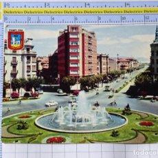 Postales: POSTAL DE NAVARRA. AÑO 1963. PAMPLONA. AVENIDA GENERAL FRANCO Y PLAZA PRÍNCIPE VIANA. CAMIONES. 1270. Lote 221826773