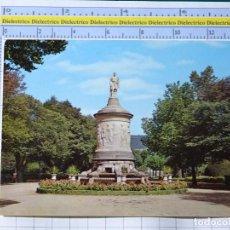 Postales: POSTAL DE NAVARRA. AÑO 1962. PAMPLONA JARDINES DE LA TACONERA MONUMENTO A GAYARRE. 7 GARRABELLA 1272. Lote 221826882