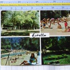 Postales: POSTAL DE NAVARRA. AÑO 1968. ESTELLA PARQUE DE LOS LLANOS. 26 TOMÁS 1278. Lote 221827977