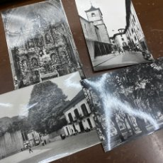 Postales: LOTE DE 4 POSTALES SANTESTEBAN, NAVARRA. CASA OSTIZ. SIN CIRCULAR. FRONTÓN, PLAZA VIEJA. 1961. Lote 222575033