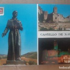 Postales: TARJETA POSTAL CASTILLO DE JAVIER NAVARRA Nº 25 EDICIONES FISA ESCUDO DE ORO SIN CIRCULAR. Lote 222779437