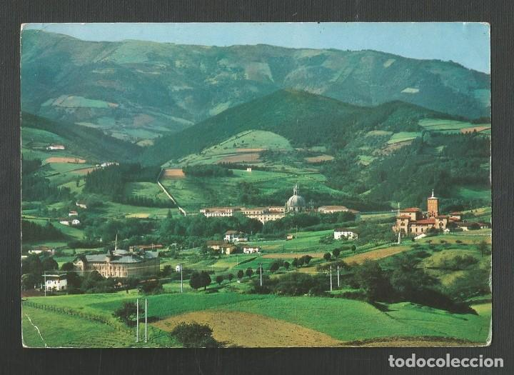POSTAL CIRCULADA - SANTUARIO DE LOYOLA - VISTA GENERAL - EDITA MANIPEL (Postales - España - Navarra Moderna (desde 1.940))